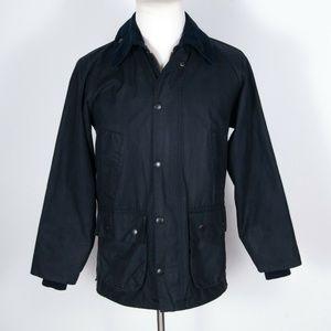 Barbour Bedale Waxed Jacket & Zip-In Liner 34/XS